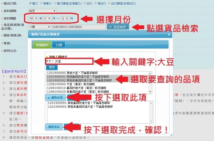 2-資訊品項查詢
