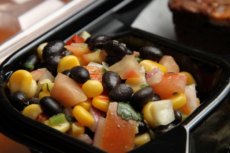 Various photographs of food.